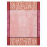 Le Jacquard Francais Baroque Jardin Pink Tea Towel 24x31 , MPN: 24944, UPC: 3660269249441