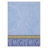 Le Jacquard Francais Baroque Porcelaine Iris Tea Towel 24x31 , MPN: 24946, UPC: 3660269249465