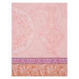 Le Jacquard Francais Baroque Porcelaine Pink Tea Towel 24x31 , MPN: 24947, UPC: 3660269249472