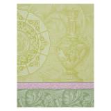 Le Jacquard Francais Baroque Porcelaine Green Tea Towel 24x31 , MPN: 24948, UPC: 3660269249489