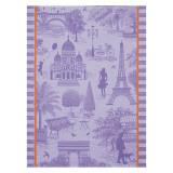 Le Jacquard Francais Toile De Paris Blackcurrant Tea Towel 24x31 , MPN: 25133, UPC: 3660269251338
