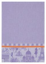 Le Jacquard Francais Petit Paris Blackcurrant Hand Towel 21x15 , MPN: 25136, UPC: 3660269251369
