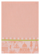 Le Jacquard Francais Petit Paris Melon Hand Towel 21x15 , MPN: 25137, UPC: 3660269251376