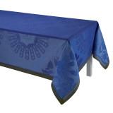 Le Jacquard Francais Jardin D'Orient Blue Tablecloth 69x126 , MPN: 25168, UPC: 3660269251680