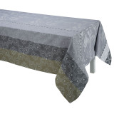 Le Jacquard Francais Bahia Grey Coated Tablecloth 69x98 , MPN: 25221, UPC: 3660269252212