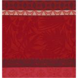 Le Jacquard Francais Bahia Red Napkin 23x23 , MPN: 25248, UPC: 3660269252489