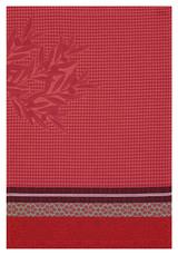 Le Jacquard Francais Alpilles Red Hand Towel 21x15 , MPN: 25310, UPC: 3660269253103
