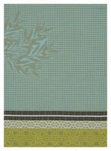 Le Jacquard Francais Alpilles Green Hand Towel 21x15 , MPN: 25311, UPC: 3660269253110