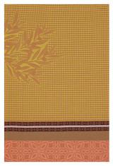 Le Jacquard Francais Alpilles Pink Hand Towel 21x15 , MPN: 25312, UPC: 3660269253127