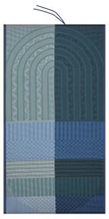 Le Jacquard Francais Totem Mineral Beach Towel 39x79 , MPN: 25354, UPC: 3660269253547