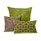 Le Jacquard Francais Bahia Green Cushion Cover 16x16 , MPN: 25363, UPC: 3660269253639