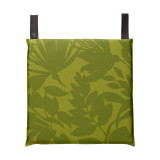 Le Jacquard Francais Bahia Green Chair Cushion 16x16 , MPN: 25369, UPC: 3660269253691