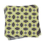 Le Jacquard Francais Bahia Green Paper Napkin 16x16 , MPN: 25507, UPC: 3660269255077