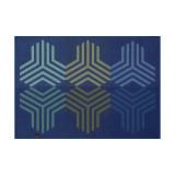 Le Jacquard Francais Kaleidoscope Fusion Blue Placemat 20x14 , MPN: 28006, UPC: 3660269280062