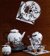 Raynaud Limoges Cristobal Chocolat Candle Pot, MPN: 0090-33-607008, EAN: 3660006633748, UPC: