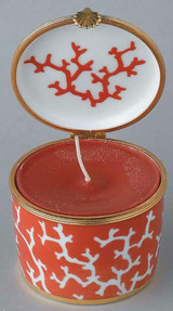 Raynaud Limoges Cristobal Rouge Candle Box, MPN: 0112-33-606008, EAN: 3660006566800, UPC: 790955034617
