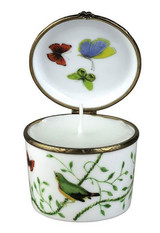 Raynaud Limoges Histoire Naturelle Candle Box, MPN: 0206-33-606008, EAN: 3660006528556, UPC: 790955039070