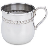 Reed and Barton Baby Hearts Pewter Engravable Cup MPN: P825 UPC: 735092227874