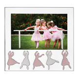 Reed and Barton Ballerina Silverplate Picture Picture Frame 5 X 7 Inch MPN: 871811 UPC: 735092257574