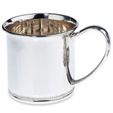 Reed and Barton Beaded Edge Baby Engravable Cup MPN: LX218 UPC: 735092222237