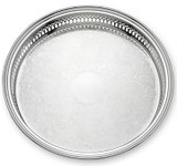 Reed and Barton Gallery Round Tray MPN: 410 UPC: 735092078711