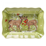 Casafina Deer Friends Large Rectangular Baker, MPN: DF641, UPC: 840289011478