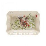 Casafina Deer Friends Medium Rectangular Baker, MPN: DF642, UPC: 840289011461