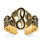 10k Gold Monogram Antique Ring, MPN: 10XNR96Y, UPC: