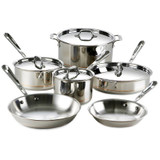 All Clad Copper Core 10 Piece Cookware Set