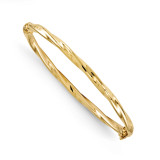 Bangle Chain 7 Inch - 10k Gold 5701-7 by Leslie's Jewelry