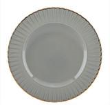 Marchesa Marchesa Shades Grey Accent Plate, MPN: 858472, UPC: 882864596352