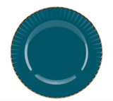 Marchesa Marchesa Shades Teal Party Plate, MPN: 858558, UPC: 882864597137