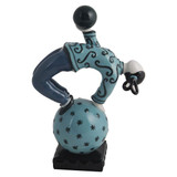 Franz Porcelain Figurine Acrobat Of The Sky Turquoise MPN: JB00268, UPC: 810524015783