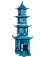 Franz Porcelain Figurine Summer Palace Turquoise MPN: JB00306, UPC: 817714010832