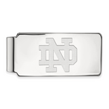 14kw University of Notre Dame Money Clip 14k White Gold 4W024UND