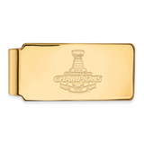 2018 Stanley Cup Champions Washington Capitals Money Clip Gold-Plated on Sterling Silver GP003CAP18