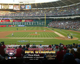 4/14/05 Inaugural Game RFK Stadium 1st Pitch Stretched Canvas AAGQ040-CS