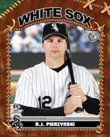 A.J. Pierzynski Chicago White Sox Stretched Canvas AAHY217-CS