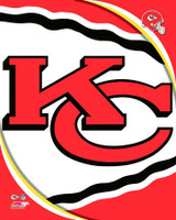 2018 Kansas City Chiefs Logo Framed Print with Glazing AAVL240-FG