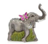 Jay Strongwater Elephant Glass Ornament, MPN: SDH2073-280, UPC: 848510039321
