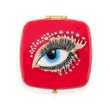 Jay Strongwater Bette Eye  Compact Mirror, MPN: SCB8077-202, UPC: 848510023672