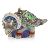 Jay Strongwater Triceratops Glass Ornament, MPN: SDH2335-250, UPC: 848510039314