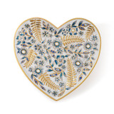 Jay Strongwater Aria Floral Heart Trinket Tray, MPN: SDH6610-284, UPC: 848510023573