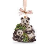 Jay Strongwater Mother & Baby Panda Glass Ornament, MPN: SDH2247-280, UPC: 848510020787