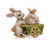 Jay Strongwater Beatrix Bunny And Egg Box, MPN: SDH7400-256, UPC: 848510023597