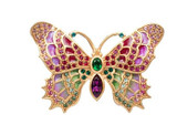 Jay Strongwater Embellished Butterfly Pin, MPN: SJ9171-272, UPC: