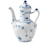 Royal Copenhagen Blue Fluted Half Lace Coffee Pot 1Qt, MPN: 1017208, EAN: 5705140157571