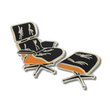 Acme Studio Lounge Chair Pin By C. & R. Eames, MPN: JE19P