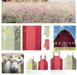 Le Jacquard Francais Farm Family Yellow Tea Towel 24 x 31 Inch 26076, EAN: 3660269260767, MPN: 26076