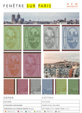 Le Jacquard Francais Fenetre Sur Paris Plane Tree Hand Towel 21 x 15 Inch 26087, EAN: 3660269260873, MPN: 26087